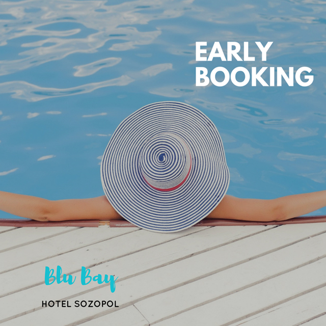 Blu Bay Hotel, Sozopol -  Early Bookiing